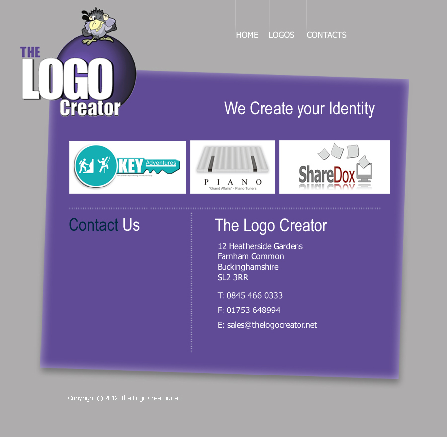 Logo Deisgner Contact us
